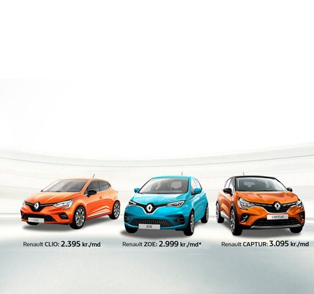 Renault Privatleasing tilbud