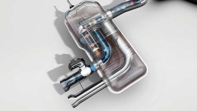 MEGANE R.S - mekanisk ventil