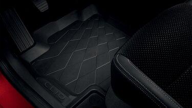 CLIO tapis en caoutchouc