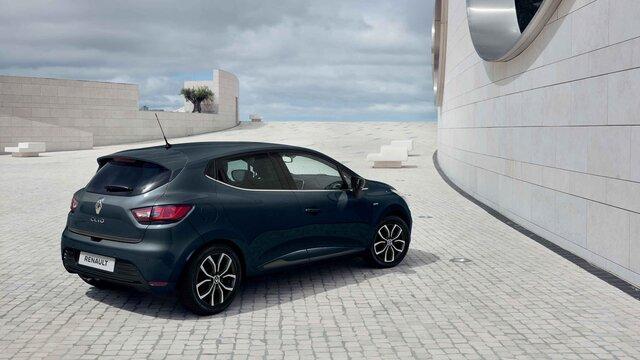 Renault Clio face arriere