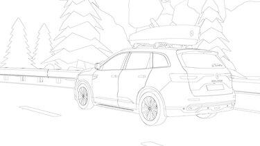 Renault Koleos coloriage