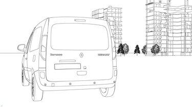 Renault Kangoo coloriage