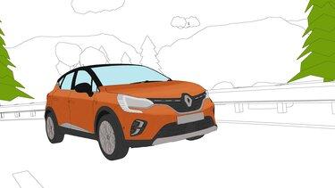 Renault Captur coloriage