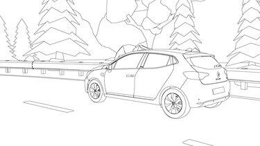 Renault Clio coloriage