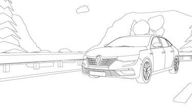 Renault Talisman coloriage