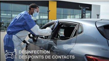 Ateliers mesures covid vidéo Renault