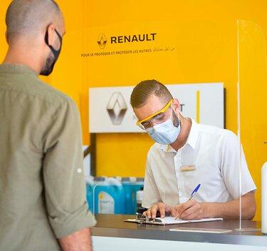 Renault mesures covid-19