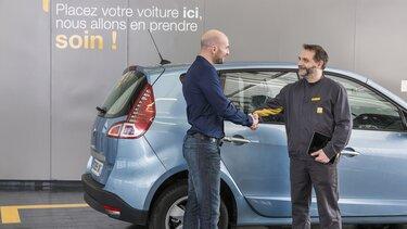 Renault - خدمات الصيانة والفحص