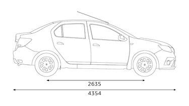 Renault SYMBOL dimensions