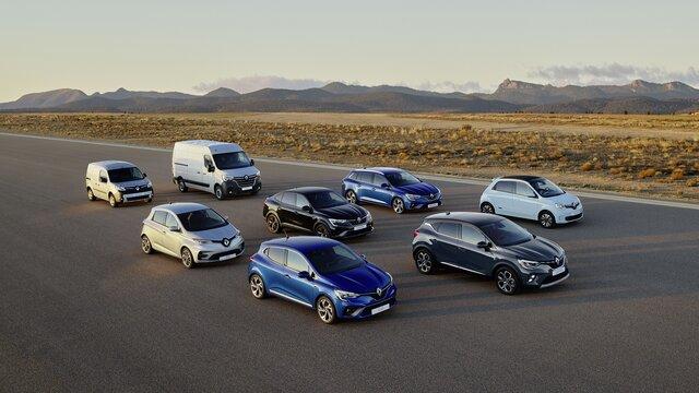 Renault gama de vehículos