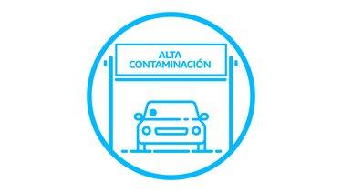 Etiqueta Protocolo Alta Contaminación
