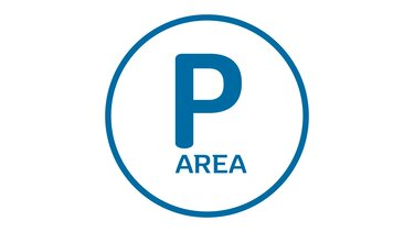 Etiqueta estacionamiento zone AREA