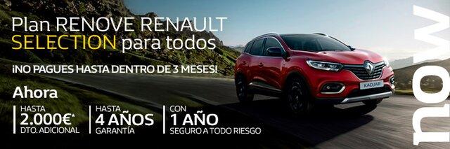 Promoción - Renault Selection - Renault