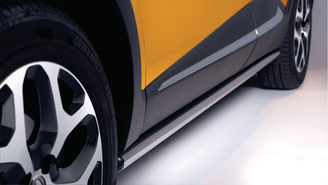 Renault Captur barras cromadas