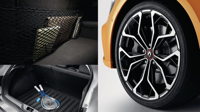Renault Captur Pack Basic accesorios