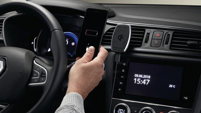 Renault Grand Scénic Soporte magnético de inducción para smartphone