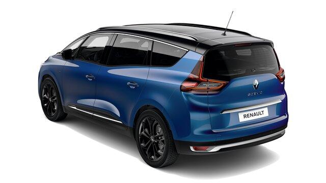 Renault Grand SCENIC Black Edition 3D parte trasera