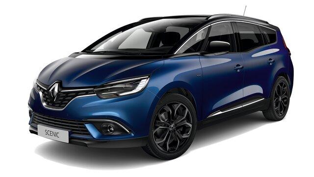 Renault Grand SCENIC Black Edition 3D lado derecho