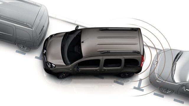 Renault Kangoo Combi - Ayuda al aparcamiento