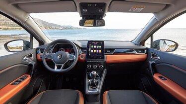 tablet táctil interior Clio