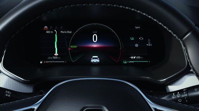 Renault CAPTUR interior, salpicadero, pantalla del conductor