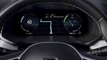 Renault CAPTUR E-TECH - pantalla del conductor de 25,4cm (10,2'')