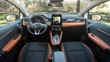 Renault CAPTUR interior cabina inteligente, salpicadero