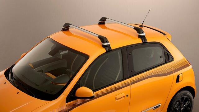 Renault TWINGO - Barras de techo de aluminio QuickFix