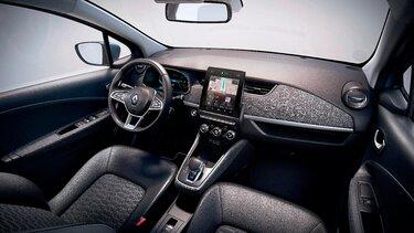 Renault ZOE interior y pantalla del conductor