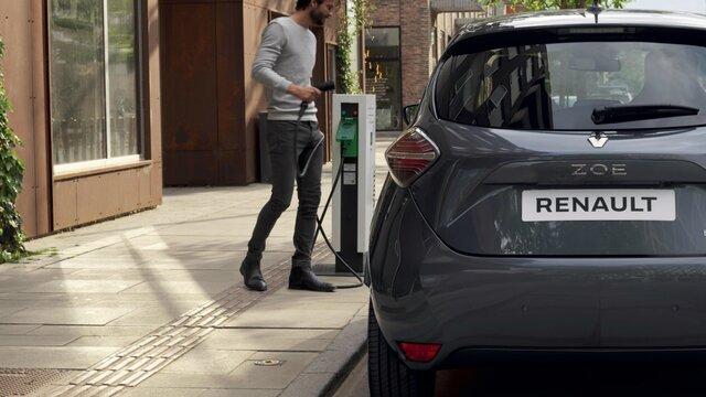 Renault ZOE vehículo urbano eléctrico