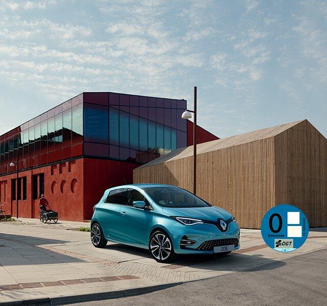 Renault ZOE exterior eléctrico