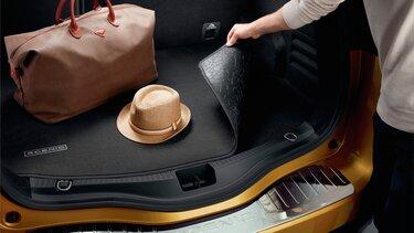 Renault Scénic Alfombrilla de maletero reversible