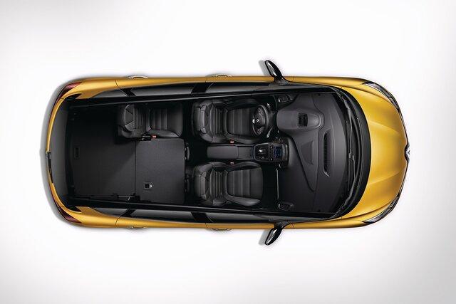 Renault SCENIC modularidad