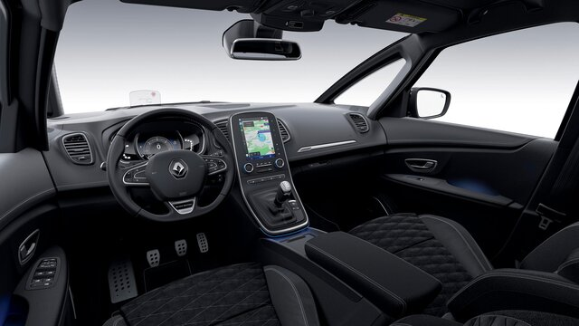 Renault SCENIC Black Edition interior