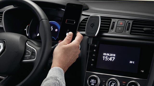 Renault Talisman Soporte magnético de inducción para smartphone sobre aireación