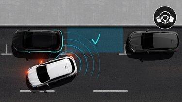 Renault TWINGO - ayuda al aparcamiento