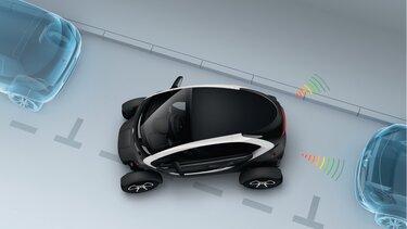 Renault Twizy ayuda al aparcamiento