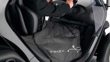 Renault Twizy manta calefactora