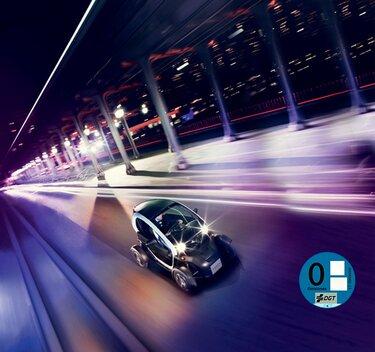 Renault Twizy en la carretera