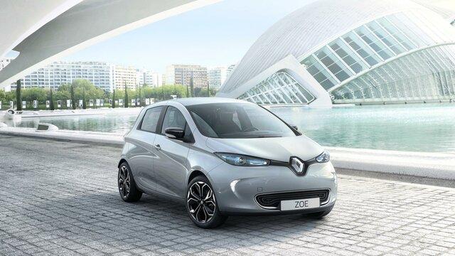 Renault ZOE diseño delantero