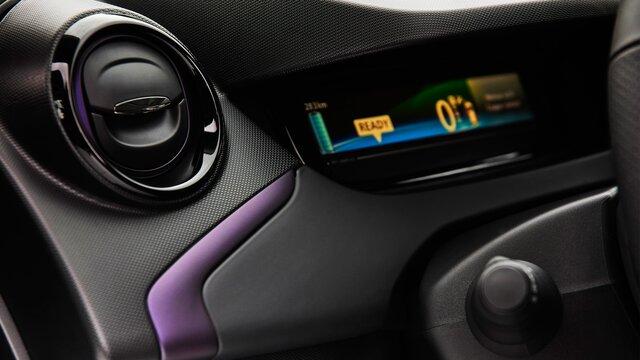 Renault ZOE pack de colores blueberry
