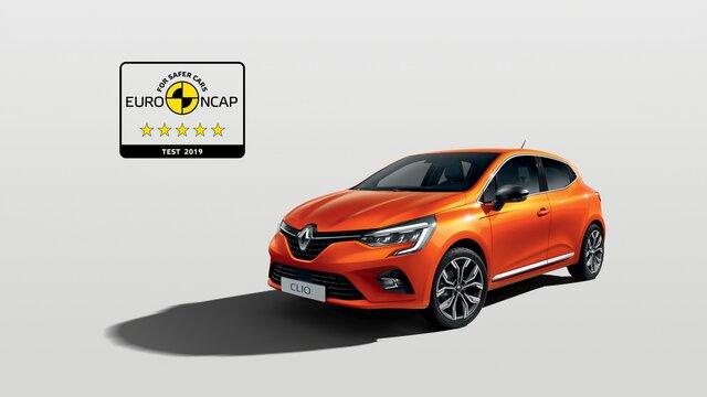Nowe Renault CLIO Euro Ncap