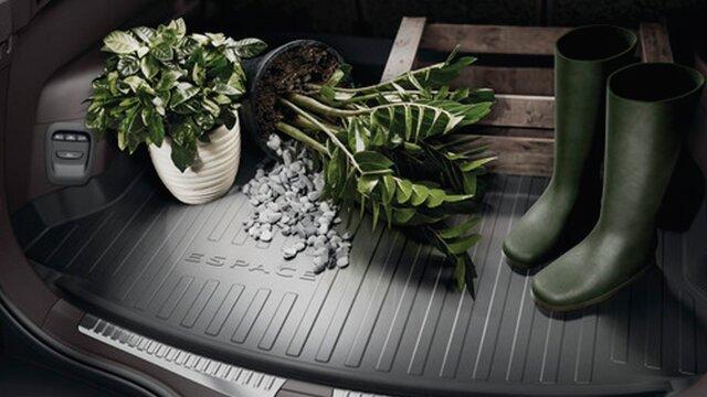 Renault accesorios bandeja de maletero
