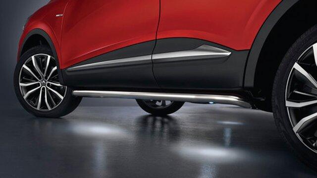 Renault accesorios Barras de estilo cromadas