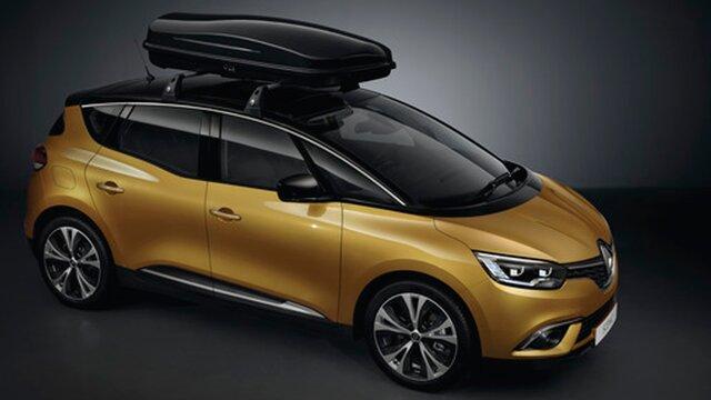 Renault accesorios Cofre de techo rígido