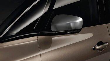 Renault accesorios carcasas de retrovisor cromadas