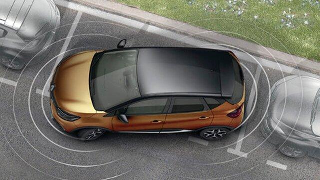 Renault ayuda al estacionamiento