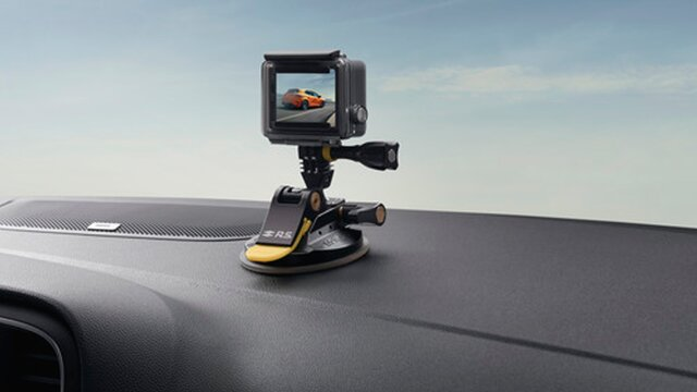 Renault accesorios soporte para cámara
