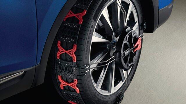 Renault accesorios cadenas de nieve