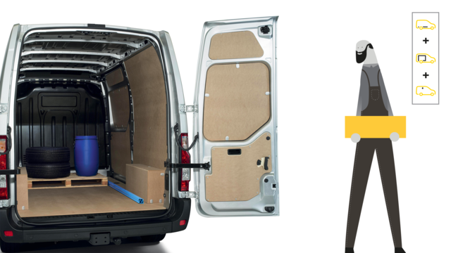 Renault - MASTER - Pack Protect +